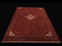 0017-9 a Large Authentic Persian Hussainabad
